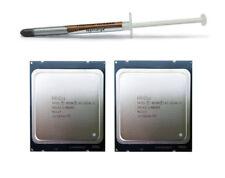 Matched Pair Intel Xeon E5-2630L V2 SIX CORE 2.40GHz 15MB Processors SR1AZ