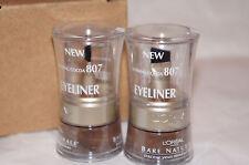 2x NIB L'oreal Bare Naturale Mineral Eyeliner - 807 Defining Cocoa Sealed