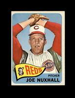 1965 Topps Baseball #312 Joe Nuxhall (Reds) NM