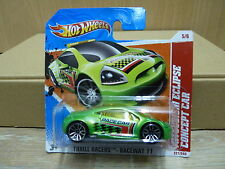 Hot Wheels 2011 Mitsubishi Eclipse Concept Car  Thrill Racers #221/244   OVP
