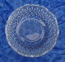Clear Crystal Glass Bowl