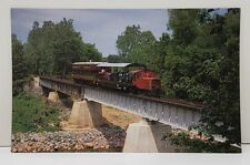 Maryland Walkersville Southern Railroad photo by Paul J Bergdolt Postcard B5