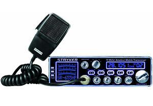 Stryker SR-655HPC 10 Meter Amateur Ham Mobile Radio AM FM 70+ Watts PEP 7 Color
