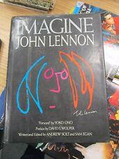 Imagine: John Lennon by Sam Egan, David L Wolper & Andrew Solt 1988 HCDJ - FLOT