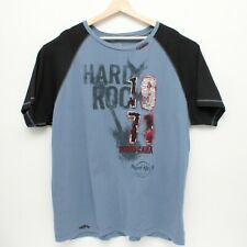 Hard Rock Hotel and Casino Punta Cana Short Sleeves T Shirt 2XL Blue