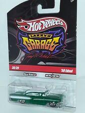 "New ListingH.W. ( 58 Edsel ) "" Larry's Garage "" # 38 of 39 , Green , Signed Base"