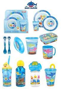 PINKFONG BABY SHARK World-10 Character Items Breakfast Sets,Mug,Bottle & Cups