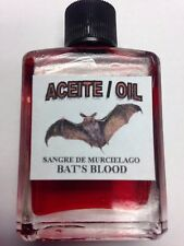 MYSTICAL / SPIRITUAL OIL ACEITE FOR SPELLS & ANOINTING 1/2 OZ FOR BAT'S BLOOD