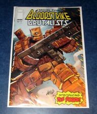 BLOODSTRIKE #23 B ROB LIEFELD variant 1st appearance THE POUCH 1st print iMAGE