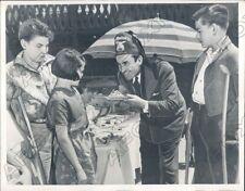 1939 Santa Monica California Al Malaikah Temple of Shrine Hold Party Press Photo