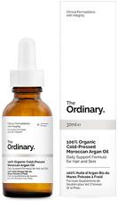 The Ordinary 100%25 Organic Cold-Pressed Moroccan Argan Oil - 30ml