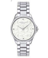 Entrenador De Mujer Acero Inoxidable Reloj Moderno Sport 31MM 14503070 $295