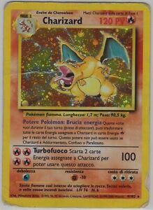 Pokémon - Charizard - Holo - Set Base - italiano