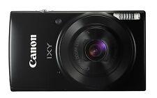 Canon Digital Camera IXY 190 Black 20MP 10x Wi-Fi from Japan New