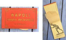 Ancien carnet de cartes postales, Napoli, Museo Nazionale, Naples Musée National