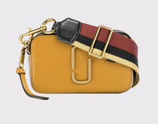 BNWT Marc Jacobs Snapshot Mustard Yellow Small Camera Crossbody Bag
