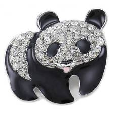 Black & White Panda Pin Bear Brooch Charm Animal Lovers Women Jewelry p791