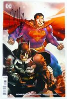 DC BATMAN/SUPERMAN (2019) #1 Signed by Joshua Williamson w/COA NM Ships FREE!