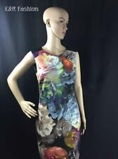 TED BAKER FLORAL DRESS WITH ZIPPED BACK SIZE UK 10 (B4) REF: WA5W/GD48/MAYZI