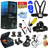 GoPro Fusion 360 Waterproof Digital Camera with 32GB, Head + Chest Strap Bundle