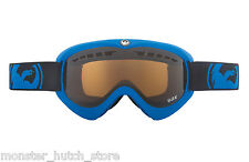 BRAND NEW Dragon Alliance DX BLUE JET LENS Snowboard Ski Goggle BONUS LENS