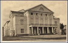 Weimar alte Ansichtskarte ~1920 Partie am Neuen Hoftheater Theater Thüringen