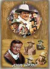 John Wayne (The Duke) Wall Clock  It would make a great  Gift