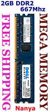 Nanya 2GB DDR2 PC2-5300 667MHz Desktop Memory SAVE @Syd