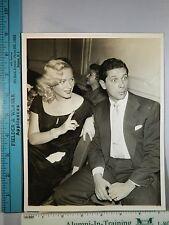 Rare Original VTG 1953 Dagmar Jan Murray Milton Berle Cosgrove NY Wedding Photo