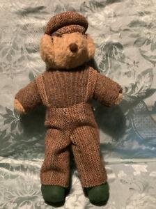 A Vintage RAEBHAT Original. Isle of Lewis Teddy Bear. Individually Hand Made.