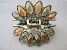 Goegeous Hair Clip w Jewel Stones (MADE IN JAPAN) NEW