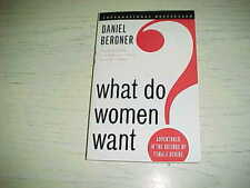NEW What Do Women Want Adventures Science Female Desire Book PB Daniel Bergner