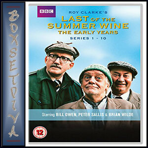 LAST OF THE SUMMER WINE - SERIES 1 - 10 THE EARLY YEARS  *BRAND NEW DVD BOXSET *