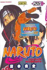 NARUTO tome 25 Kishimoto manga shonen