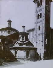 Exterior, Santa Maria presso San Satiro, Milan, Italy, Magic Lantern Glass Slide