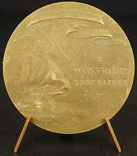 Medaille Ligue maritime coloniale française à Mr G Friard Saint Nazaire medal