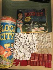 Block City Construction Set Plastic Block City Inc. See Pics & Read Description