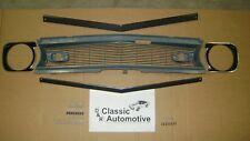 Camaro 68 Standard Grill 77pc Kit w/Moldings/Headlamp Bezels/Hardware
