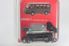 Herpa Mercedes MB 100 Bus, weiß - Kit 012317-004 - 1:87