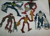 McDonalds Happy Meal 2008 Lego Bionicle Toys x 5.