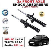 Per Audi Q3 1.4 2.0 TFSI / Tdi / Rs 2.5 Quattro 2011- > Ant. Ammortizzatori Set