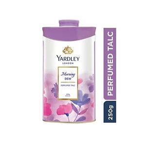 Yardley London Morning Dew Perfumed Talc for Women, 250gm