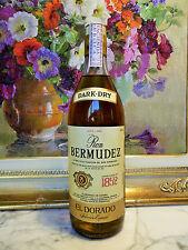 RUM RON BERMUDEZ = DARK DRY = OLD BOTTLE = SELECTION EL DORADO