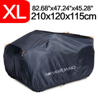 Waterproof Quad ATV Cover Fits Yamaha Grizzly 700 550 660 FI Auto 450 400 350