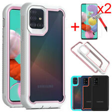 For Samsung Galaxy A51 A71 4G Case Shockproof Hard Phone Cover Screen Protector