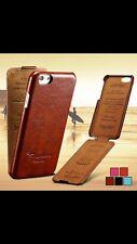 iPhone 8/7 Handy Hülle Tasche Far Vintage Braun #LY Luxus Case,Schutzhülle Cover