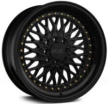 16X8 XXR 536 4x100/114.3 +0 Black Wheels (Set 4)