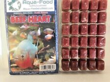 Frozen Fish Food-5 X 100g blister packs-Beef Heart