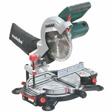 Metabo 216mm Crosscut Compound Mitre Saw - KS 216 M Lasercut
