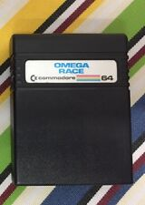 ORIGINAL CARTRIDGE COMMODORE C64 OMEGA RACE  UK & EUROPE POSTAGE FREE
